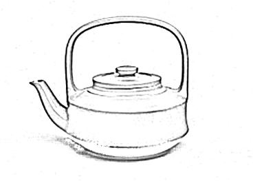 提壁提梁壶
